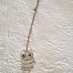 Jewelry - Brass Owl Necklace